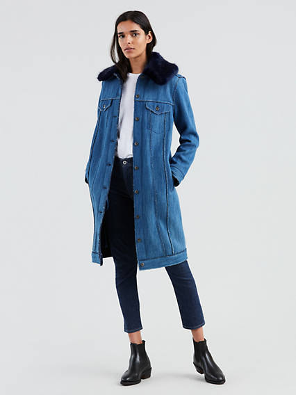 Trucker Trench Coat