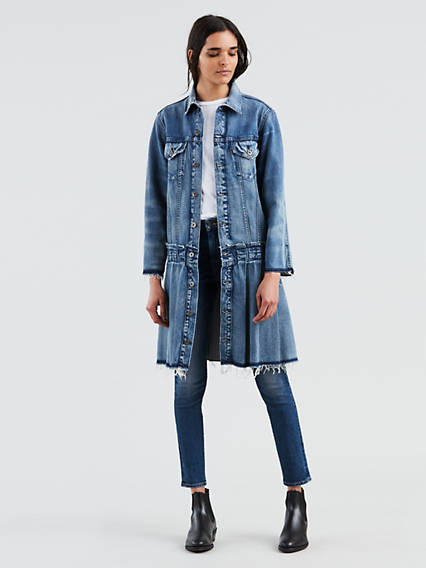 Levi's® Made & Crafted® Pleated Trucker Jacket