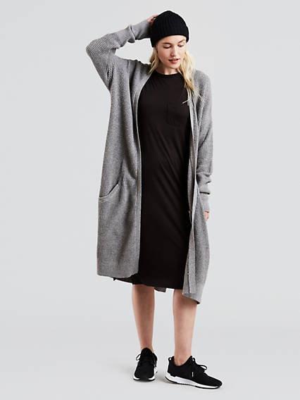 Long Cardigan Sweater