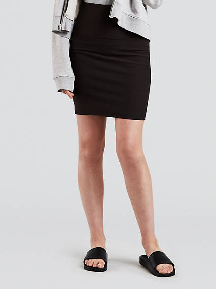 Slim Pencil Skirt