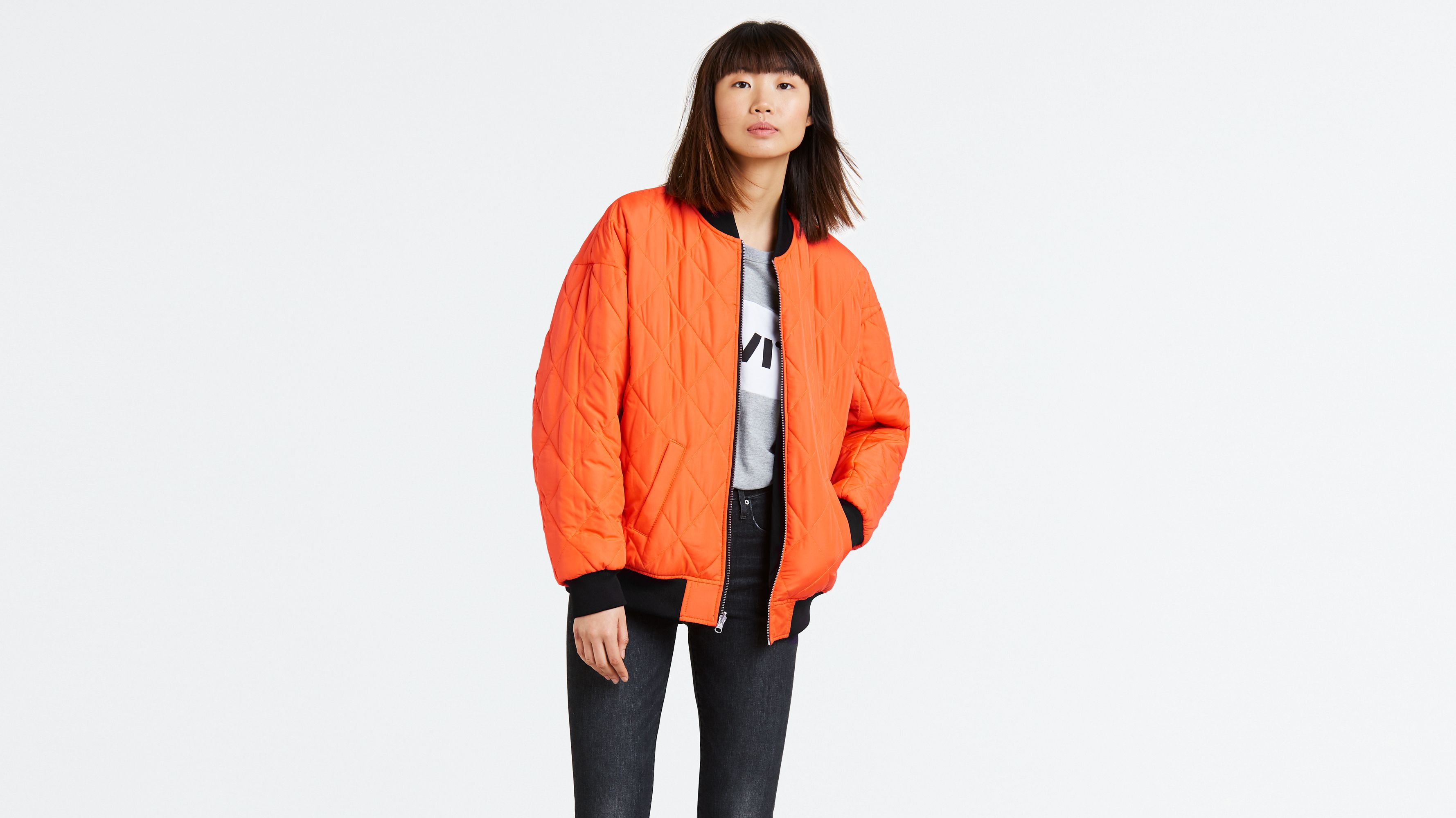 Love £55 Brands Liv Reversible At Levi's The Coat Bomber xqf7H6YYUw