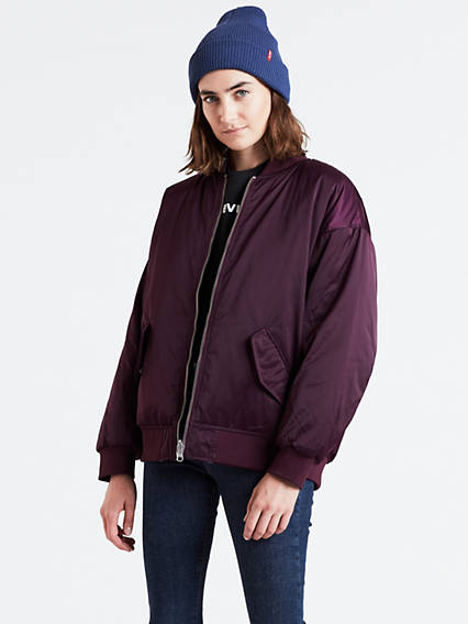 Reversible Bomber Coat