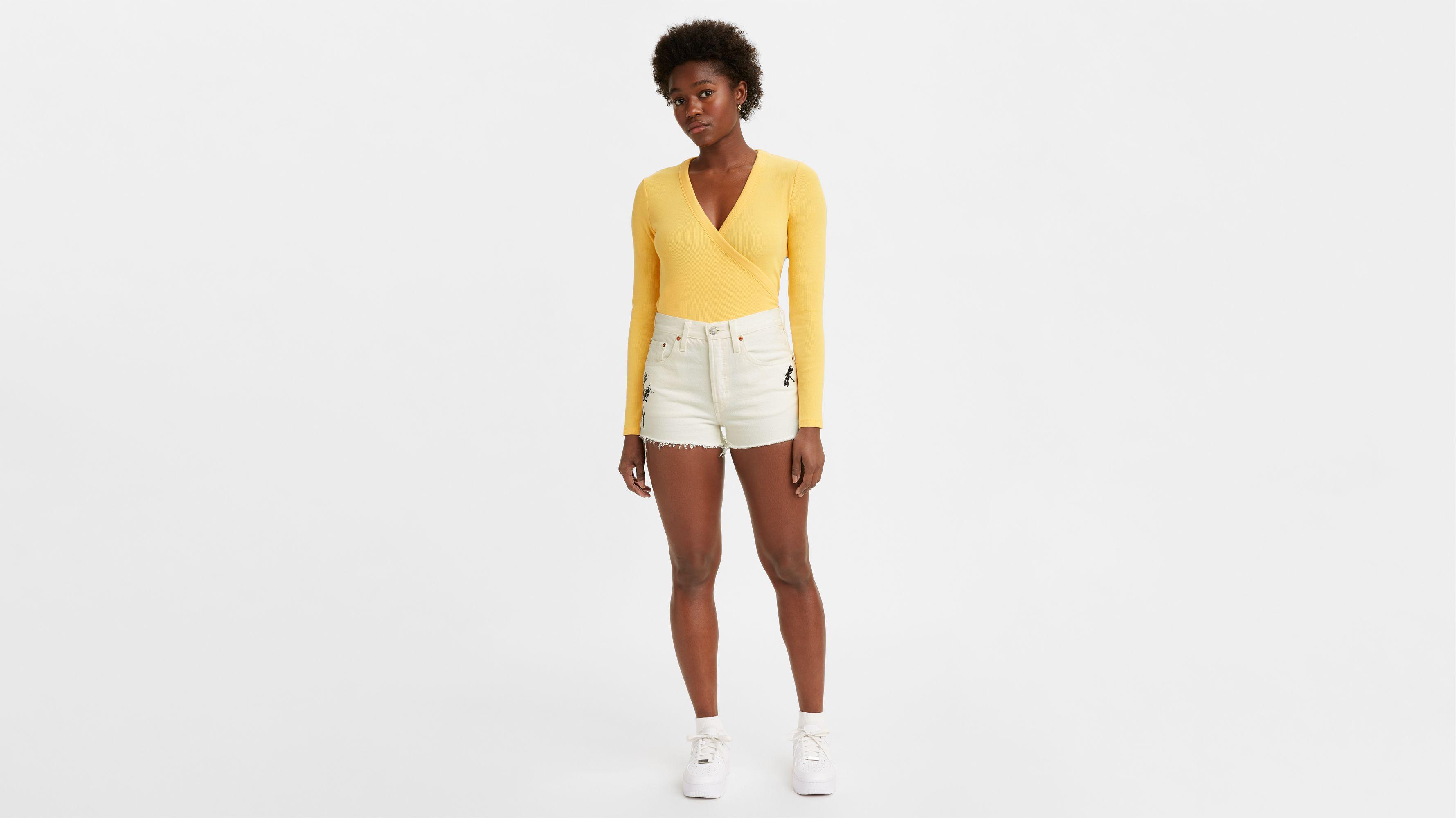 6b7f475d1a 501® High Rise Shorts - Dark Wash | Levi's® US