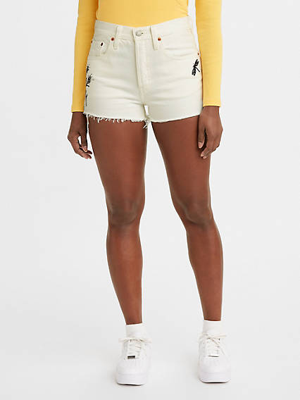 a6c794f46a Women's High Rise Shorts - Shop High Waisted Denim Shorts | Levi's® US