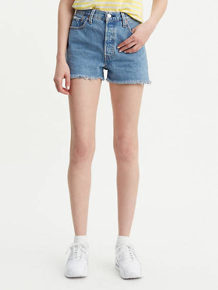 501 High Waisted Shorts
