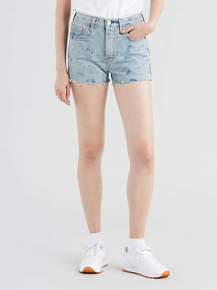 Levi's® X Peanuts 501® High-Waisted Shorts