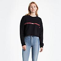 Levis.com deals on Levis Graphic Raw Cut Hem Sweatshirt