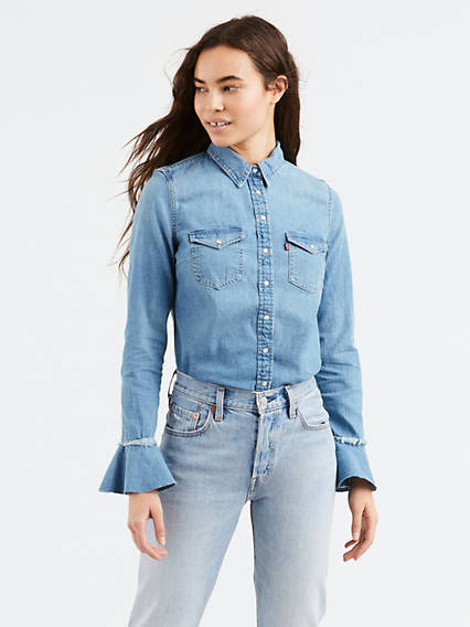 Celia Ruffled Shirt