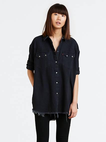 Oversize Sawtooth Shirt
