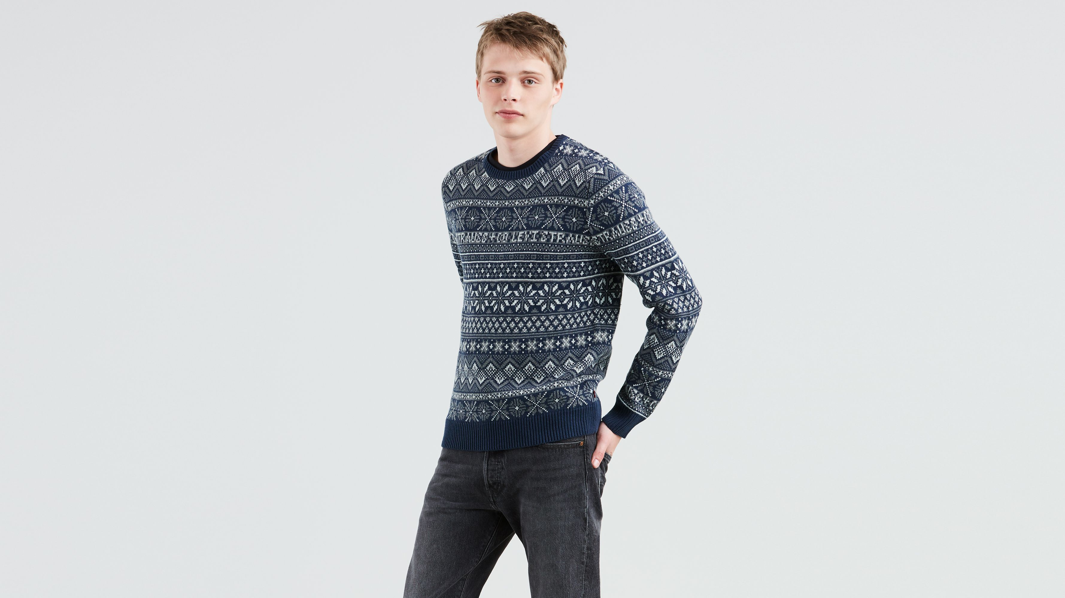 Classic Sweater Gr Sweaters Holiday Men Levi's® Clothing Sweatshirts amp; rFqrxS4