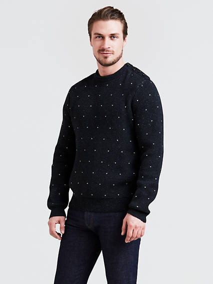 Doubleknit Crew Sweater