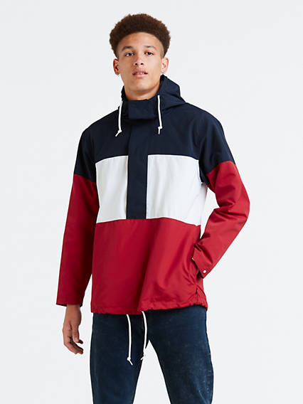 Colorblock Anorak Jacket