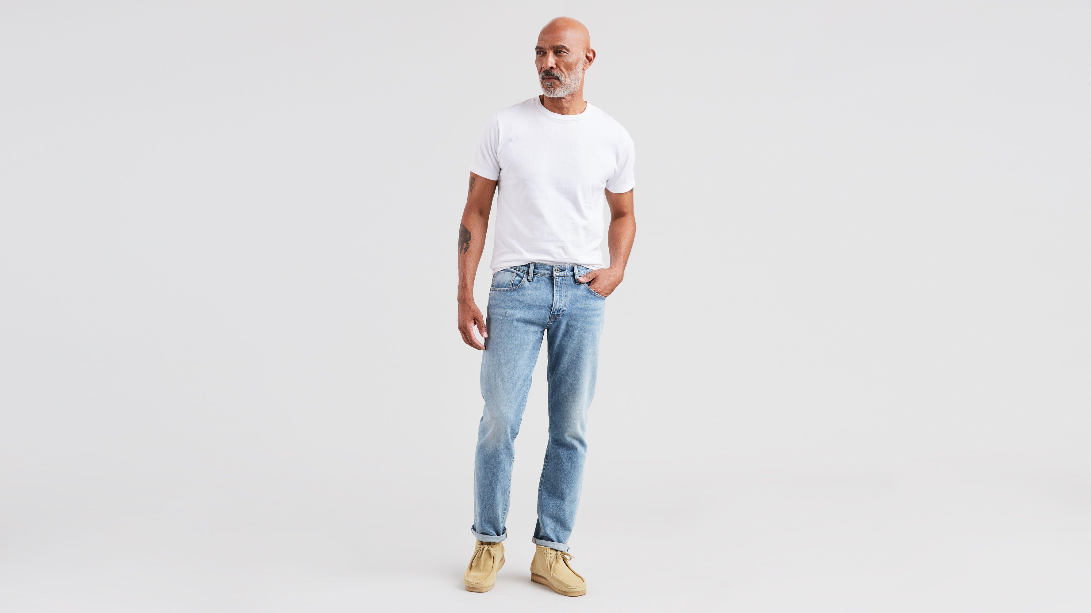 Levi´s ® Herren Shorts Kurze Hose 501® Hemmed Short Blue Marshmallow Neu Herrenmode