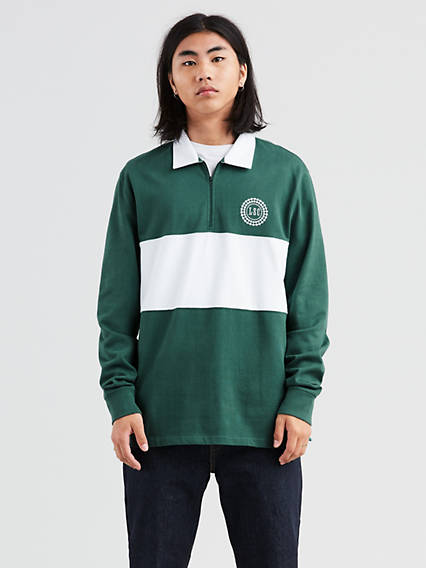 Levi's® Skateboarding Long Sleeve Rugby Polo
