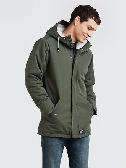 Thermore Padded Parka Coat