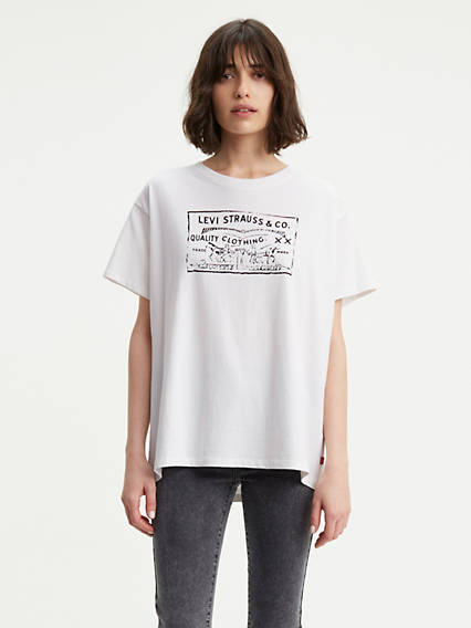 Graphic Ex-Boyfriend Tee Shirt