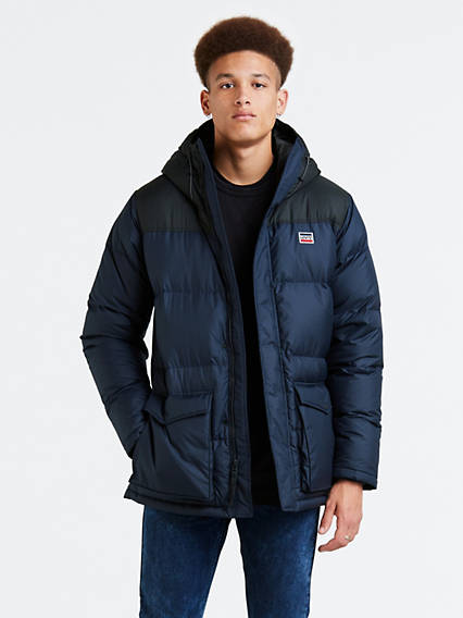 Down Puffer Parka Coat