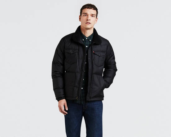 0133ecfa40 Down Barstow Puffer Jacket - Black
