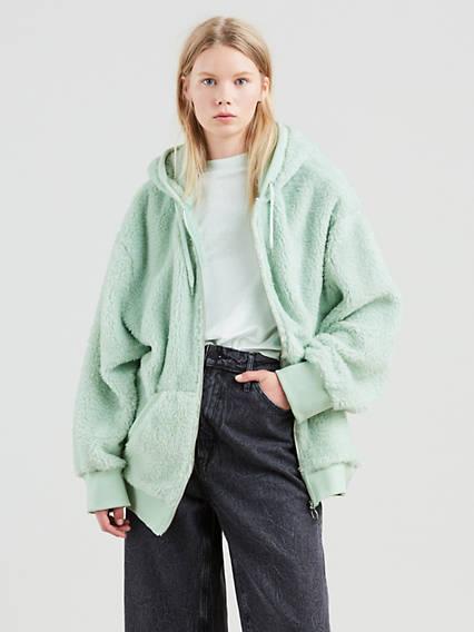 L8 Zip-Up Hoodie Sweatshirt