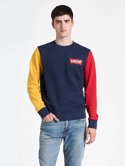 Modern Logo Crewneck Sweatshirt