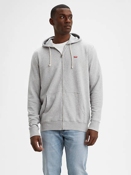 Levi's® Classic Logo Zip Up Sweatshirt (Tall)