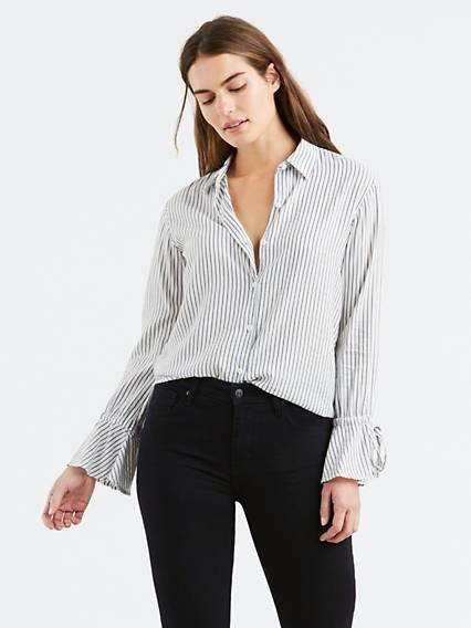 Elsie Tie Sleeve Shirt