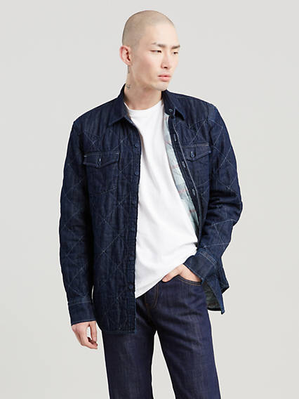 Levi's® WellThread™ x Outerknown Padded Western Shirt