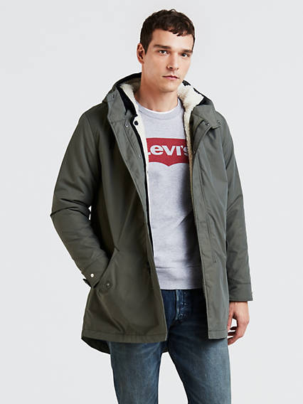 3-In-1 Fishtail Parka Jacket