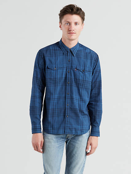Chemise western Barstow moderne