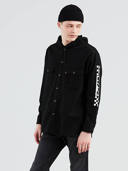 Hooded Worker Shirt