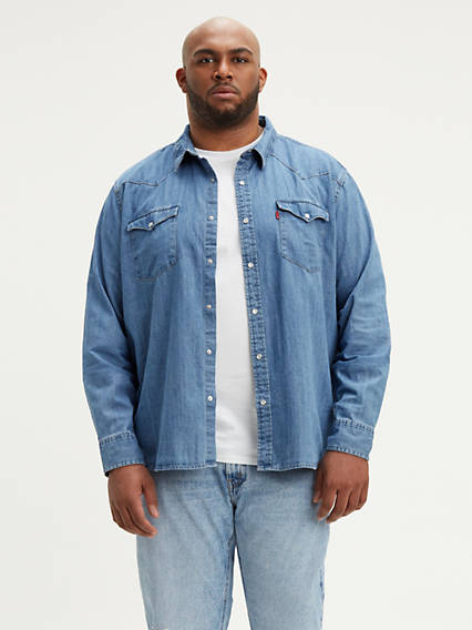 c960b2e53ea Classic Denim Shirt (Big)