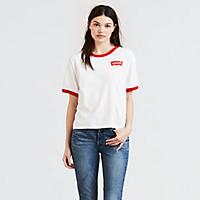 Levis.com deals on Levis Logo J.V. Ringer Tee Shirt