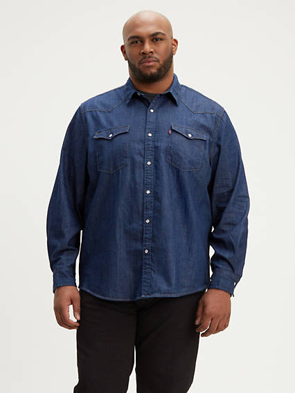 Classic Denim Shirt (Tall)