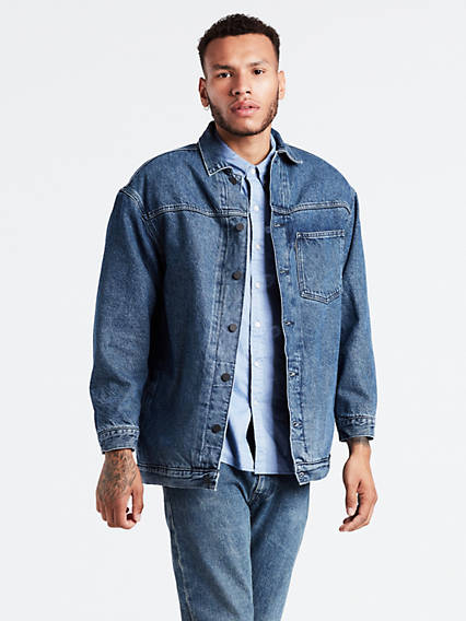 L8 Uni Ovrszd Lined Trucker Jacket