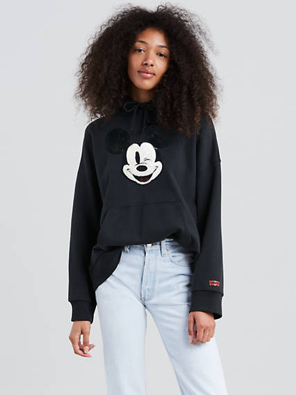 Levi's® x Disney Mickey Mouse Graphic Oversized Hoodie