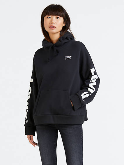 Graphic Oversized Hoodie