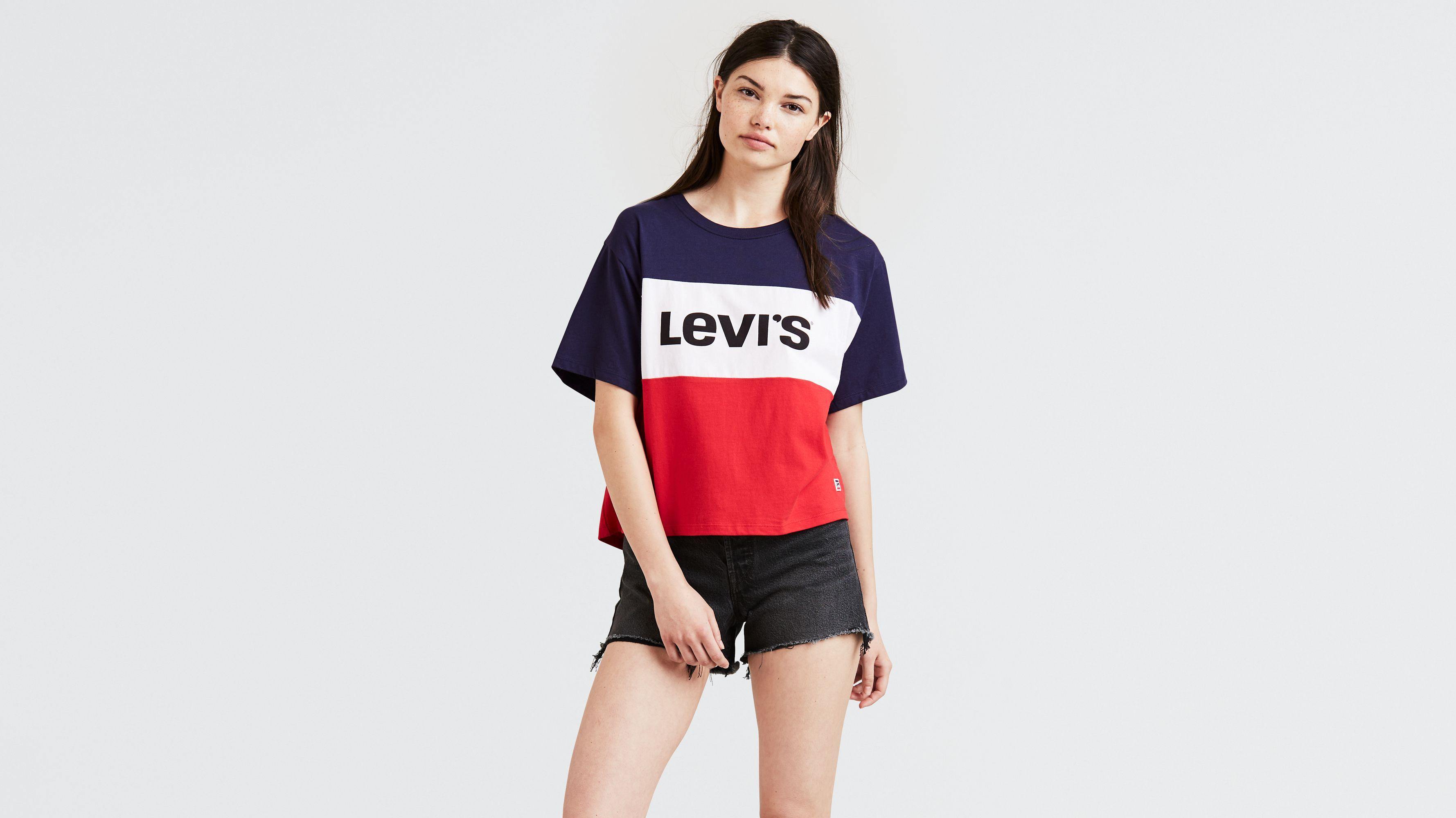 e8b4627b6 Colorblock J.v. Tee Shirt - Multi-color | Levi's® US