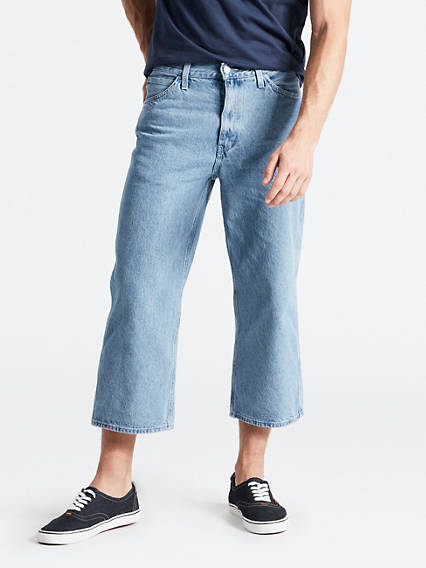 Line 8 Unisex Loose Twist Pocket Jeans