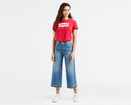 9942f44ae8b Mouse over image for a closer look. High Water Wide Leg Jeans ...