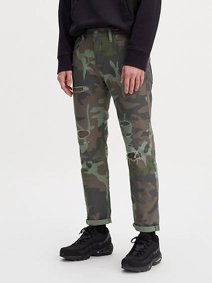 Hi-Ball Roll Camo Jeans