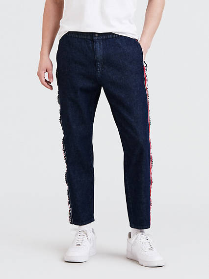 Denim Breakaway Pants