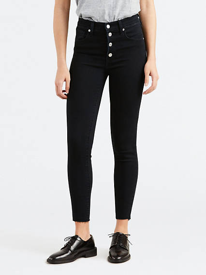 Mile High Super Skinny Ankle Jeans