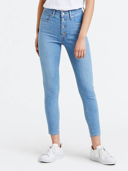 Levi's® Extra Ankle Exposed Buttons Jeans