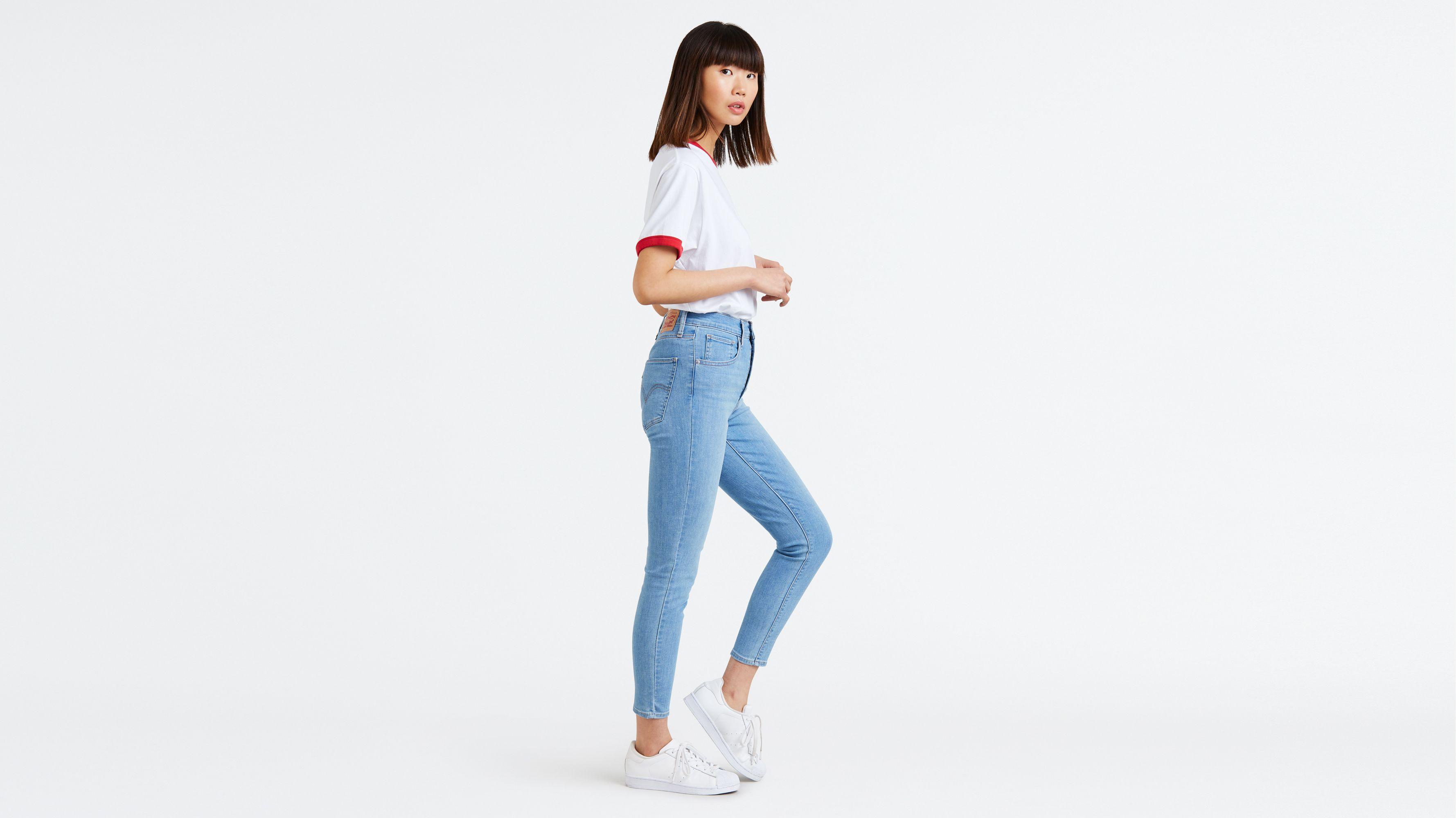 50e044946 Mile High Super Skinny Ankle Jeans - Medium Wash | Levi's® US