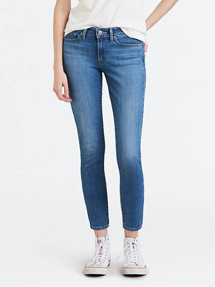 711 Skinny Jeans With Back Zip
