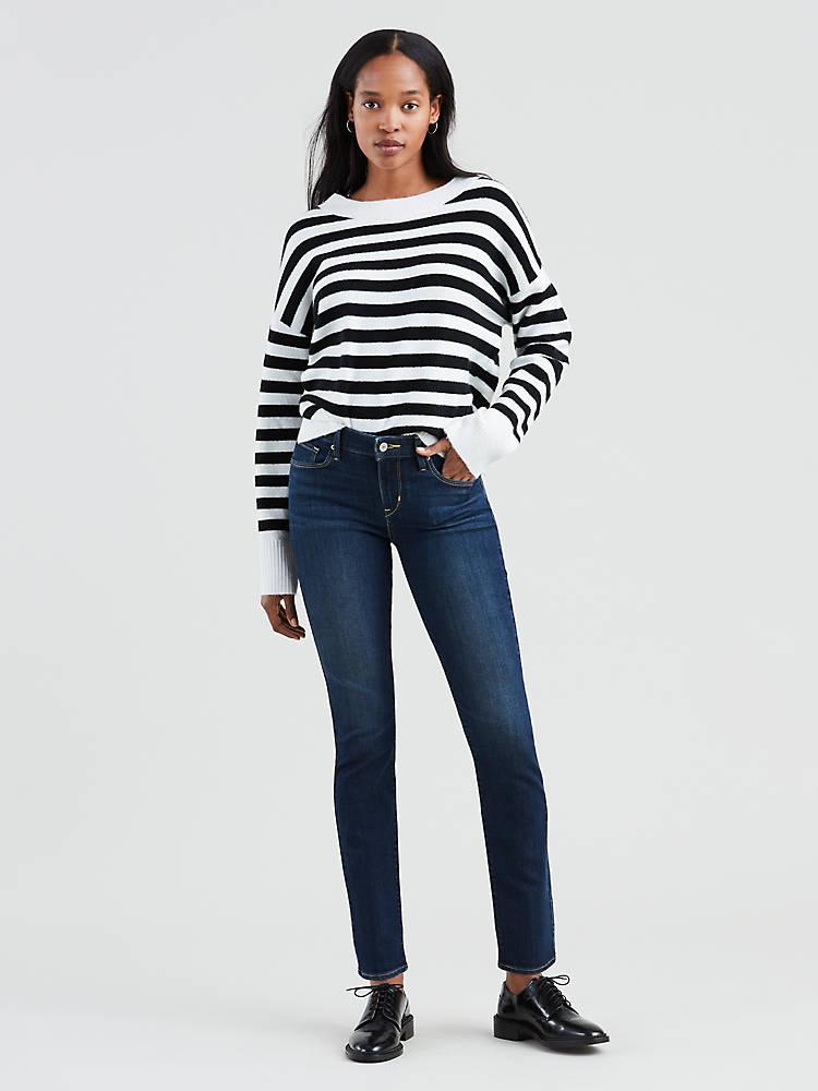 Mid Rise Skinny Women's Jeans 1