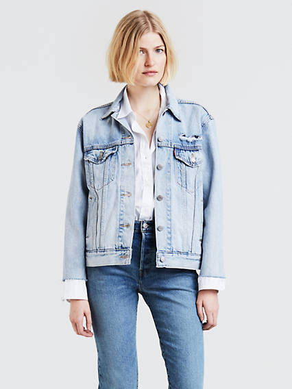Ex-Boyfriend Zip Sleeve Trucker Jacket