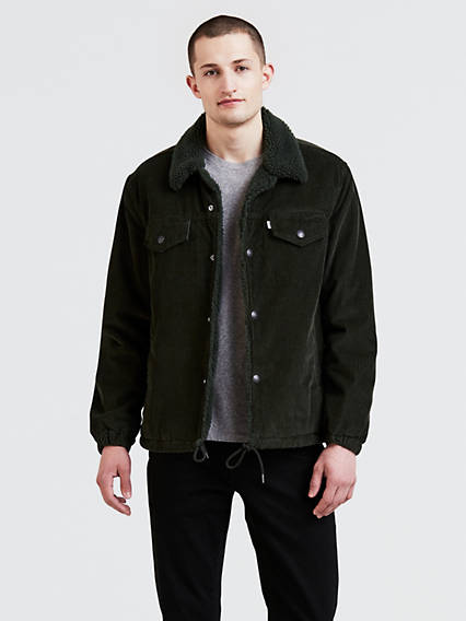 Crd Coach Sherpa Trucker Jacket