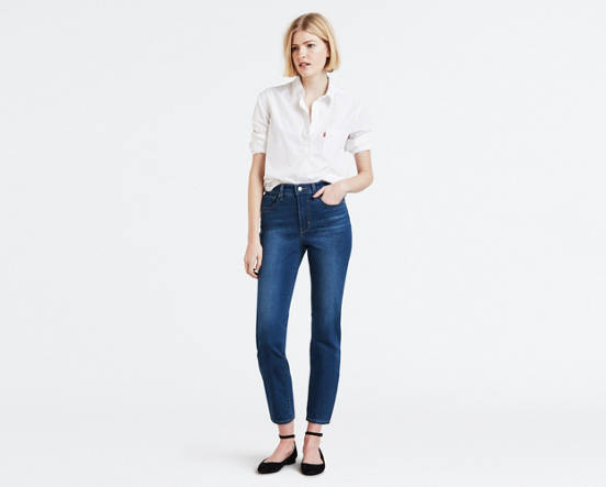 5654d27ebe963 724 High Rise Straight Crop Women's Jeans