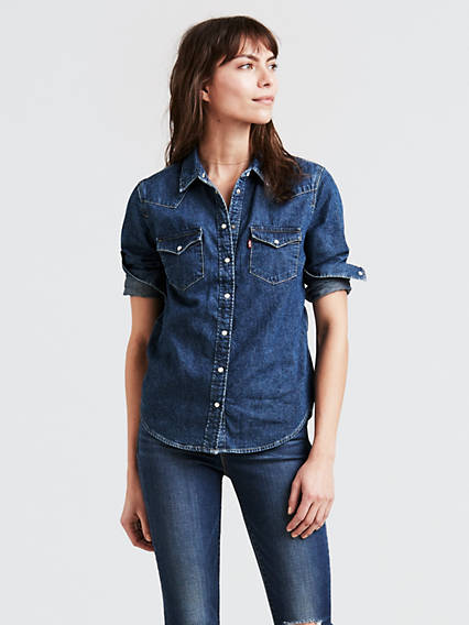 de6f8bbc5e Women's Shirts, Denim Blouses, Tank Tops & T-Shirts | Levi's® US